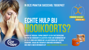 Medical Taping Concept bij hooikoorts